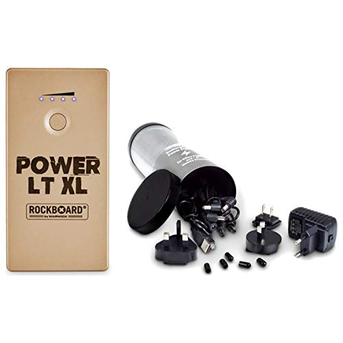 Rockboard Power RBO LT XL Rechargeable Power Supply for Guitar Effects  (Gold) f9e079bb63468
