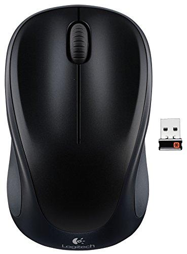 Logitech Wireless Mouse m317 with Unifying Receiver, Black (910-003416) (Logitech Bluetooth Mouse M325)