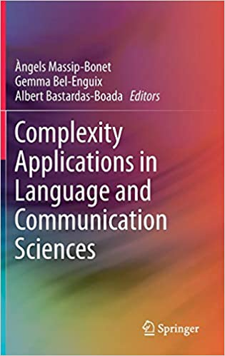 Resultado de imagen de complexity applications in language and communication sciences