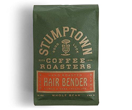 Stumptown Coffee Roasters Hair Bender Whole Bean Coffee, 12 Ounce Bag, Flavor Notes of Citrus and Dark Chocolate