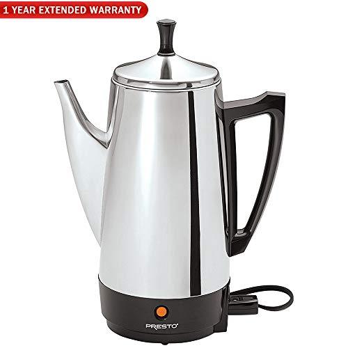 presto electric coffee percolator - 6