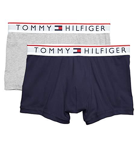 Tommy Hilfiger Modern Essentials Cotton Stretch Trunks - 2 Pack (09T3481) M/Dark Navy