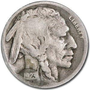 1923 Buffalo Nickel Good+ Nickel Good