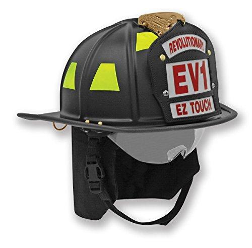 Honeywell First Responder EV1 Traditional Helmet, Red ()