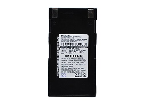 Battery BP-0720-A1-E Replacement for Seiko MPU-L465, MPU-L465 Label Printer, RB-B2001A, 2200mAh -  Cameron Sino Technology