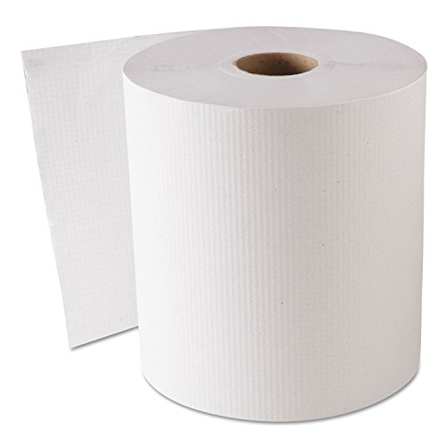 GEN 1820 Hardwound Roll Towels, White, 8