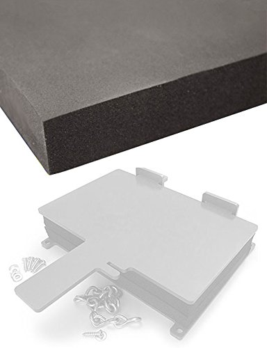 2 Sheets of Sheath/Holster Making Foam Thermoform Molding - (8x12x1) (Kydex Sheets)