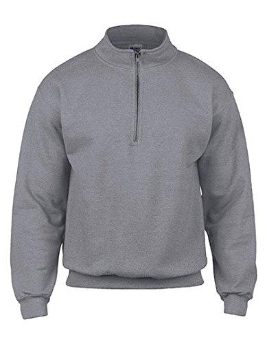 1/4 Zip Womens Sweatshirt - 3