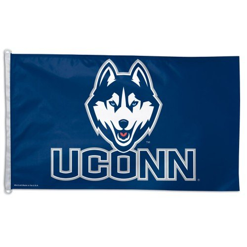 NCAA Connecticut Huskies 3-by-5 Foot Flag with Grommets
