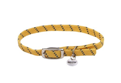 Elasta Cat Reflective Safety Stretch Collar