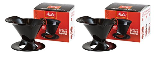 Melitta Ready Set Joe Single Cup Coffee Brewer black … (2)