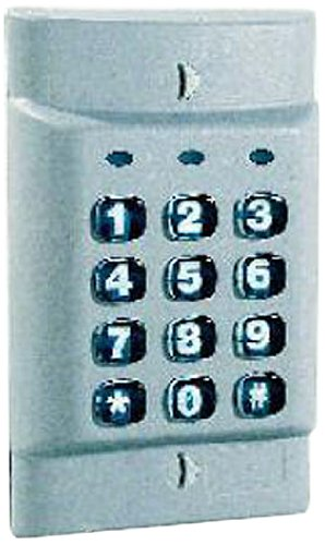 Linear 212MP LLC Indoor/ Outdoor Surface Mount Keypad, 4.5mm by Linear