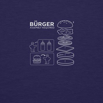 Planet Nerd - Bürger Assembly required - Herren Langarm T-Shirt, Größe XXL, dunkelblau