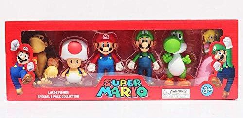 Da collezione Super Mario Large 12cm Figura Collezione Speciale Confezione da 6 Scatola Regalo