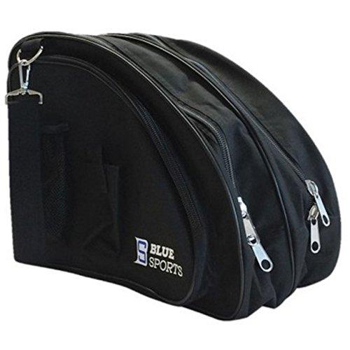 Deluxe Skate Bag Black Blue Sports