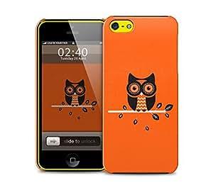 orange owl iPhone 5c protective phone case