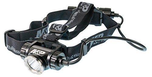 Smith & Wesson M&P Delta Force HL RXP 1x18650 870 Lumen Rechargeable Headlamp with 6 Modes, Waterproof Construction and Memory Retention for Survival, Hunting and Outdoor