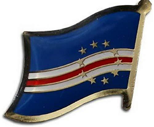 Kaputar Cape Verde Flag Lapel Hat Pin Fast USA Shipping | Model FLG - 8021