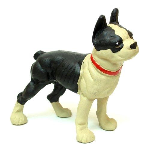 Dog Statue Door Stoppers Decorative Animal Bulldog Figurine Indoor Outdoor Garden Landscape Decorative Sculpture Modern Accent