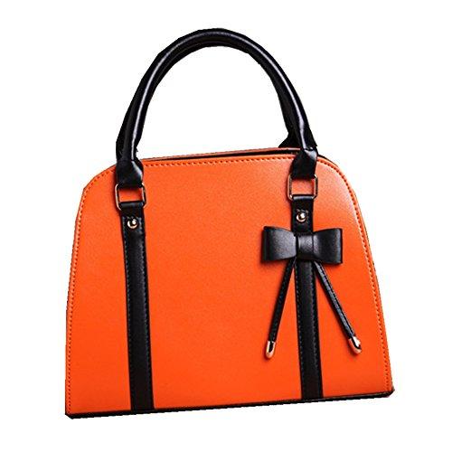 Top Shop Womens Skull Rivet Shoulder Handbags Casual Totes Messenger Bag Hobos Winered Satchels by TOP SHOP BAG