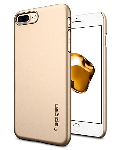 Spigen Thin Fit Designed for Apple iPhone 8 Plus Case (2017) / Designed for iPhone 7 Plus Case (2016) - Champagne Gold