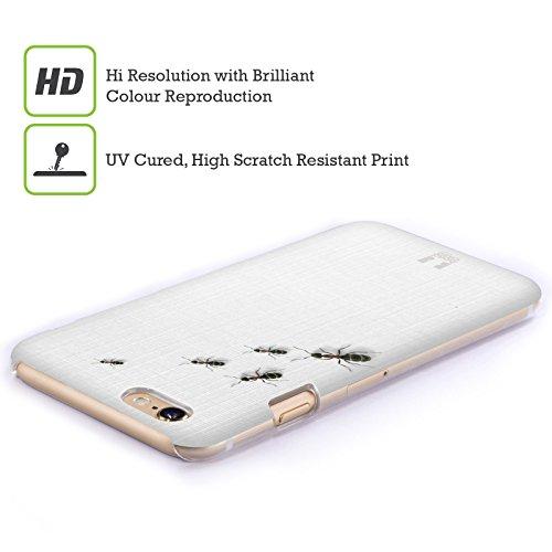 Head Case Designs Formiche Sul Tavolo Camaleonte Cover Retro Rigida per Apple iPhone 6 / 6s
