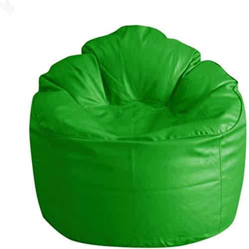 CADDYFULL XXXL Muddha Chair Bean Bag Cover with Beans  Beans Quantity 2.5kg   Green