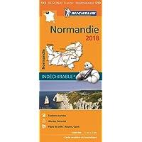 Carte Normandie 2018