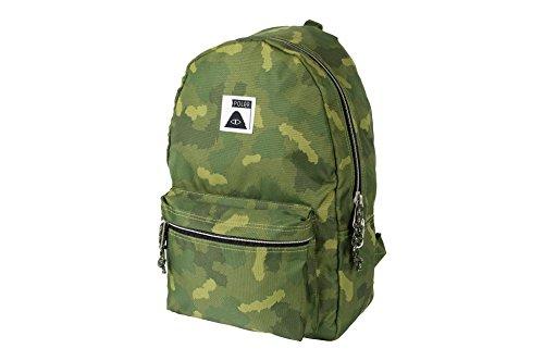 Poler Rambler Pack-fco Accessory, FURRY GREEN CAMO, (Green Rambler Backpack)