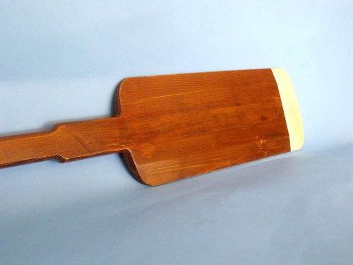 Wooden Hamilton Squared Rowing Oar 62'' - Nautical Decoration - Wooden Oar - Nautical by Handcrafted Model Ships (Image #3)