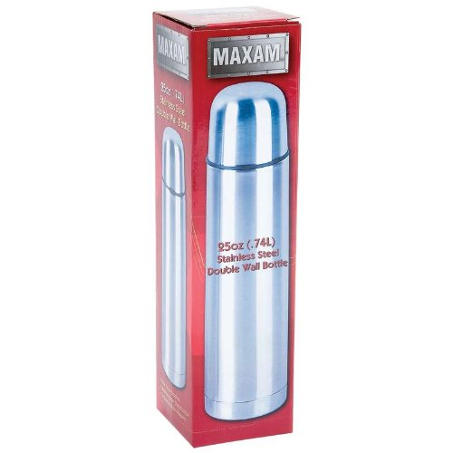 (Maxam Stainless Steel Double Wall Bottle KTDWAL75 11