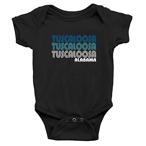 Teeburon Tuscaloosa retro color Baby - 9 Tuscaloosa