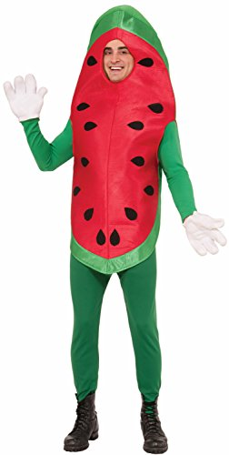 Forum Novelties Watermelon Costume, Red, Standard - Adult Watermelon Costumes