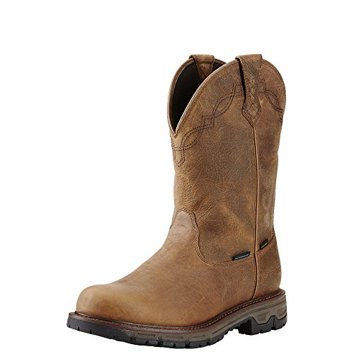 Ariat Men's Conquest Round Toe H2O 400g Hunting Boot, Rye Brown, 9 D US