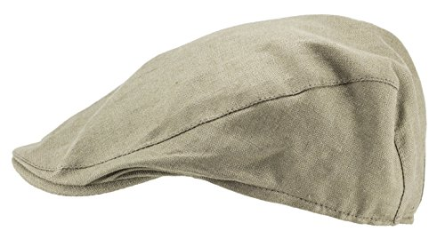 (Hanna Hats of Donegal Donegal Touring Style Irish Linen Cap, Ireland)