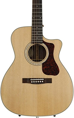 Poly Foam Electric Guitar Case (Guild OM-140CE Acoustic-Electric Guitar in Natural)