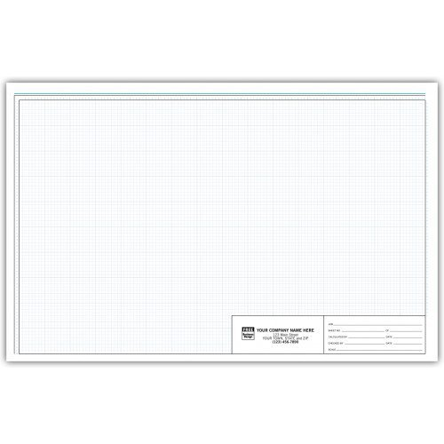 Graph Engineering Pads - 11 X 17 - 1/8 Inch by PrintEZ