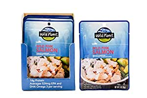 Wild Planet, Salmon Wild Pink, 3 Oz, 3 ounce (Pack of 1)