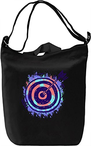Colourful Darts Borsa Giornaliera Canvas Canvas Day Bag| 100% Premium Cotton Canvas| DTG Printing|