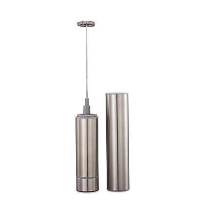 W&Z Batidor de Leche eléctrico de Mano Alimentado por batería Fabricante de Espuma Batidor de Huevo