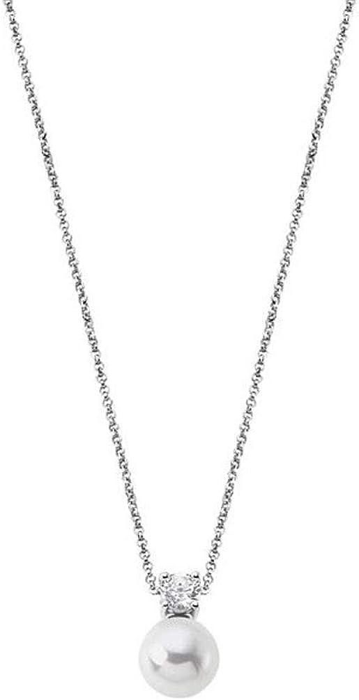 Lotus Silver Collar LP1801-1/1 Mujer Plata de Ley con Perla