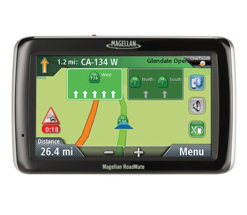 Magellan RoadMate 3055 4.7-Inch Widescreen Bluetooth Portable GPS Navigator with Lifetime Traffic by Magellan