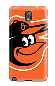 Fashionable Style Case Cover Skin For Galaxy Note 3- Baltimore Orioles
