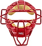 Rawlings LWMX Lightweight Face Mask (Scarlet)