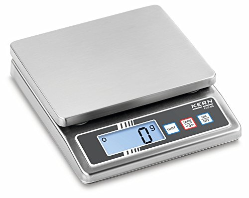 Bench scale [Kern FOB 5K-3NS] IP65: Protected against dust and water splashes, Weighing Range [Max]: 5 kg, Readout [d]: 1 g