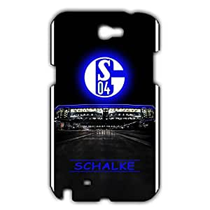 The FC Soccer Club Schalke 04 Football Club Logo Club Series Note 2,Phone Case Cover For Note 2,Protective Phone Case Cover