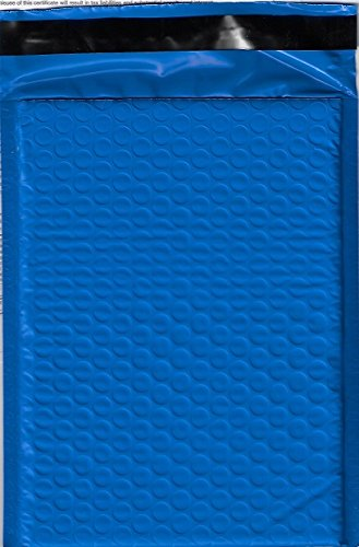 ValueMailers VM #0 6X10 Self-Seal Poly Bubble Mailer, Blue, 6.25