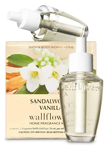 上一掃する市町村【Bath&Body Works/バス&ボディワークス】 ルームフレグランス 詰替えリフィル(2個入り) サンダルウッドバニラ Wallflowers Home Fragrance 2-Pack Refills Sandalwood Vanilla [並行輸入品]