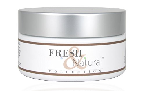Fresh & Natural Skin Care Sugar Scrub, Coconut Vanilla, 8 Ounce