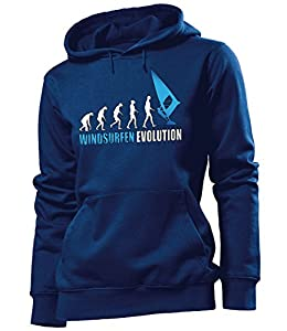 WINDSURFEN EVOLUTION 626(FKP-N-Weiss-Blau) Gr. S